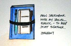 Special ElasticSketchbook