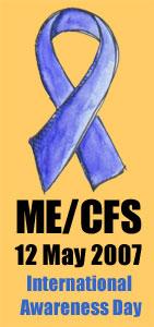 ME CFS Awareness OrangeBackMedium