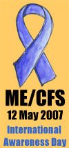 ME CFS Awareness OrangeBack Small