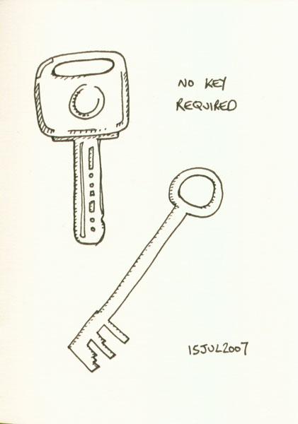 No KeysRequired