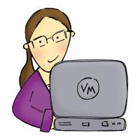 Virtually Mary Logo Artwork - Copyright of RachelCreative