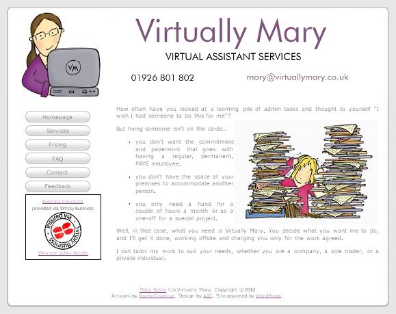 Home - Virtually Mary Web Site