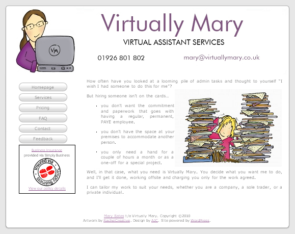 Home - Virtually Mary Web Site